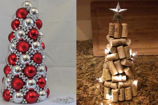 decoracao de arvore de natal simples e barata: , algumas com tutorial para quem já está no clima de decorar tudo